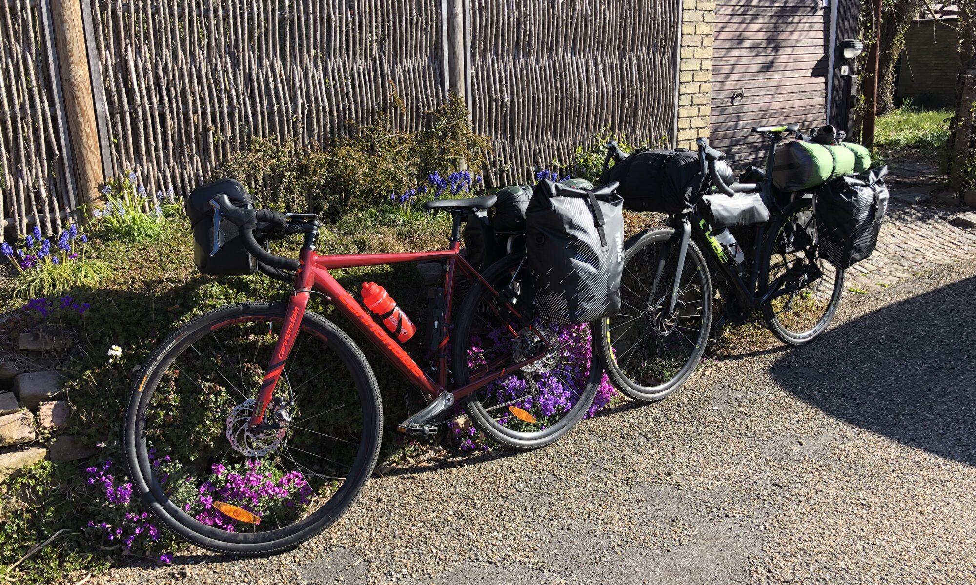 Vores bikepacking sommerferie 2019